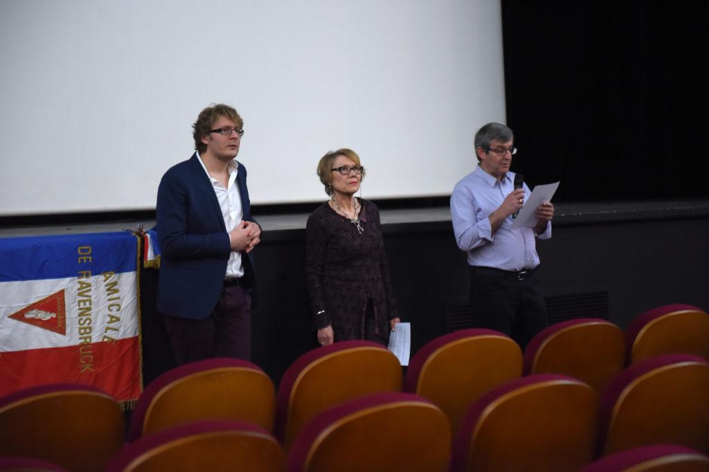 Anice Clément lors d'une projection débat